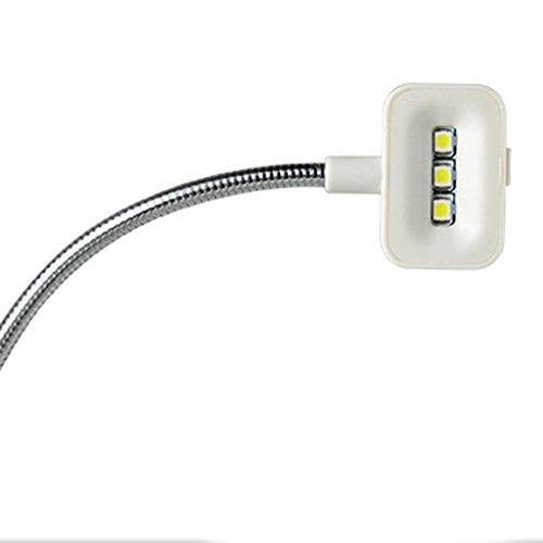 Lámparas de Escritorio Estudio Tabla Ajustable Cargador Luz Solar Iluminación USB Portátil