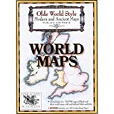 Olde World Style World Maps on CD-ROM