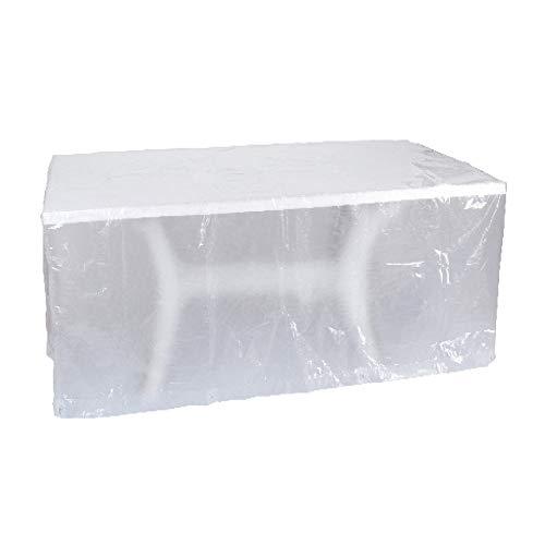 Ribimex F10Copertura per tavoli da Esterno Rettangolare 220x120x70 cm