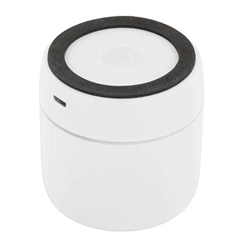 Baoblaze Altavoces inalámbricos LED ABS Portátil Envolvente Bluetooth 5.0 Práctico USB Recargable Altavoces Impermeables para Fiestas Ordenador portátil Coche - Blanco