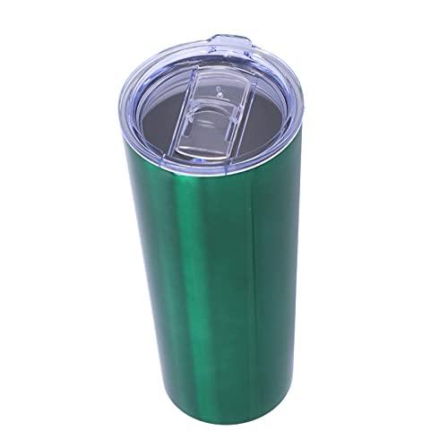 FOLOSAFENAR Ventosa, función a Prueba de Fugas Botella de Aislamiento Botella de Acero Inoxidable de 2 Capas para Viajes, acampadas, Deportes
