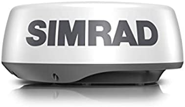 Simrad HALO20+ 36 NM 20-inch Pulse Compression Radar, 60 RPM, with Collision Avoidance and VelocityTrack, Dual Range Doppler Technology Built-in