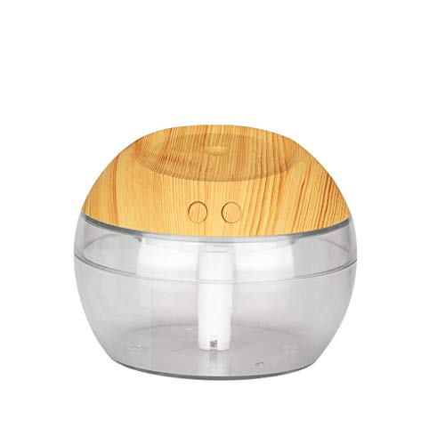FTYU Aromatherapy oils for diffuser 300ml Wood Grain Ultrasonic Cool Mist Aroma Humidifier Whisper-Quiet Waterless Auto Shut-off for Home Office Baby Yoga