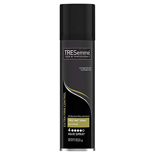 Price comparison product image TRESemme Tres Two Hair Spray Aerosol,  Extra Hold 11 oz (Pack of 4)