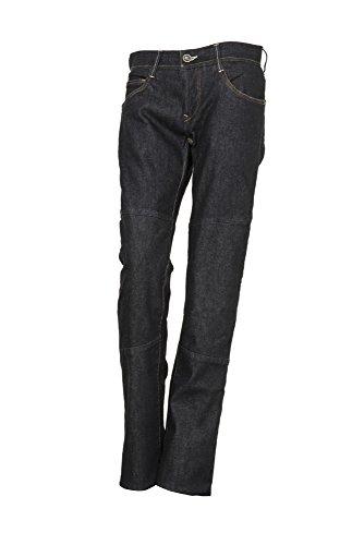 ESQUAD Lousy Straight Pantalon de jean pour moto, Road Blue, Taille 29