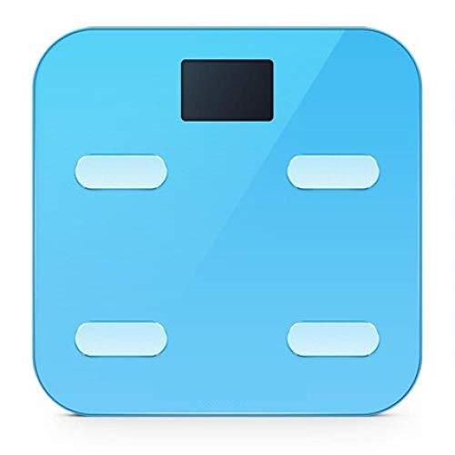 Originele Smart Yunmai Premium M1302 Weegschaal Vetpercentage Digitaal lichaamsvet Weegschaal Premium Ondersteuning Bluetooth APP Blauw