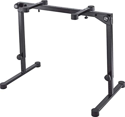 K&M (ケーアンドエム) キーボードスタンド 折畳み式 Table-style keyboard stand ≫Omega Pro≪ Black 18820