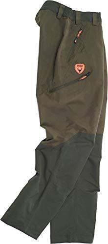 Hunter Team Pantalone Impermeabile Adatto per Caccia e Pesca MOD. S8320 (100% Poliestere, L)