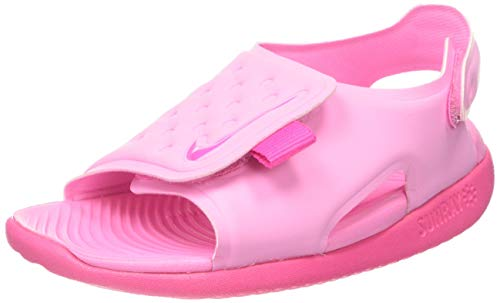 Nike Unisex Baby Sunray Adjust 5 (TD) Gymnastikschuhe, Pink (Psychic Pink/Laser Fuchsia 601), 19.5 EU