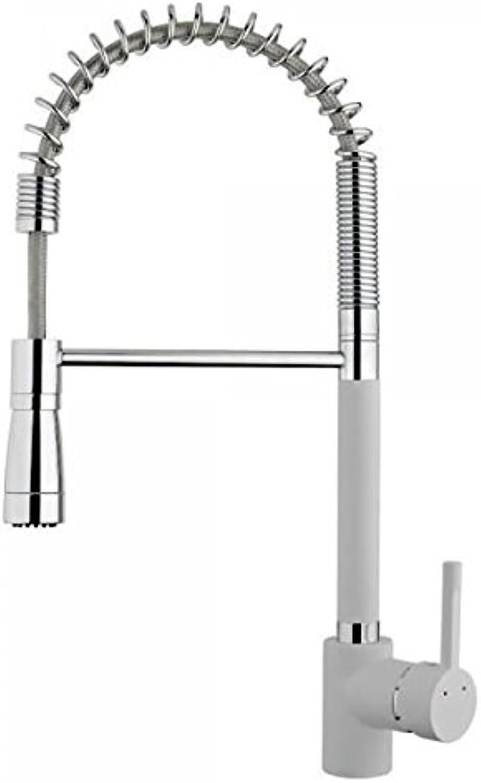 Teka 23939120W Kitchen Sink Tap with Movable Spout, White