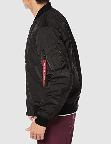 [アルファインダストリーズ]アウターL-2Bボンディングジャケットミリタリーブルゾン(中綿なし)ブラックM