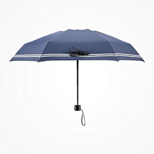 LYMUP Ultra-luz Mini-Sol Paraguas Protector Solar Anti-UV Mujer Plegable Soleado Paraguas solopolera Paraguas