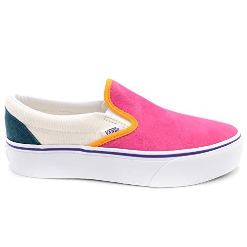 Vans Sneakers Donna Classic Slip ON Platform VN0A3JEZWVY White 39