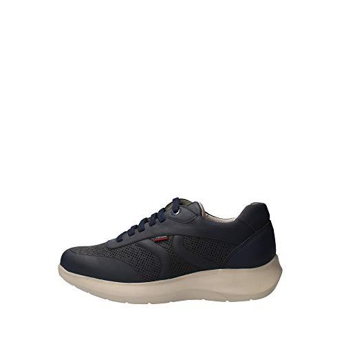 Callaghan - sneaker hombre walker cro en cuero - 40 - azul