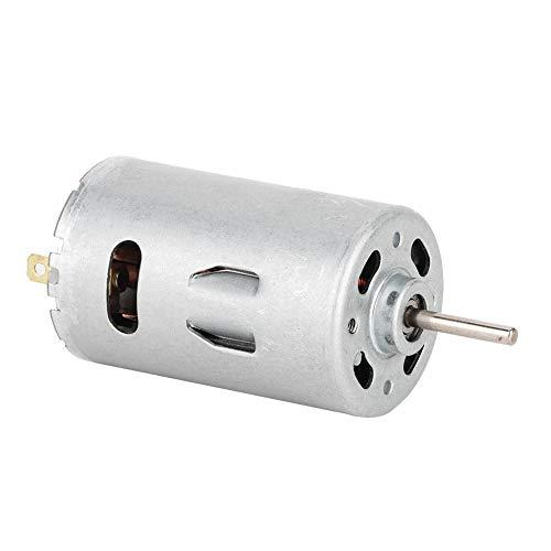 Ventilator, R385 ijzer zilver DC12V-24V 10000RPM groot koppel boormachine gelijkstroommotor
