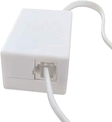 Grabadora telefónica, Grabadora de Voz de teléfono USB de 16 GB, Mini grabadora telefónica para teléfono Fijo, Obtener energía del Sistema telefónico (Menos Tiempo de Carga)