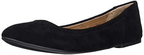 Amazon Essentials Belice Ballet Flat Zapatos Bailarinas,Negro, 40 EU