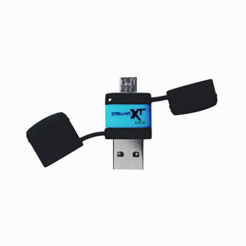 Patriot Stellar Boost XT Ruggedized 128GB USB 3.0/USB OTG Storage for Android Tablets and Phones -...
