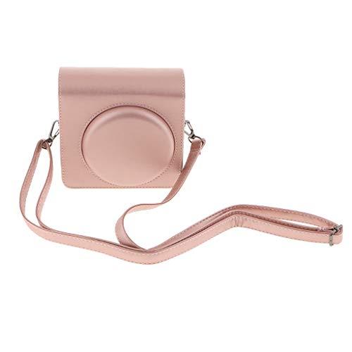 Homyl Retro PU Leder Tasche Umhängetasche Tragetasche Reisetasche für Fujifilm Instax Square SQ6