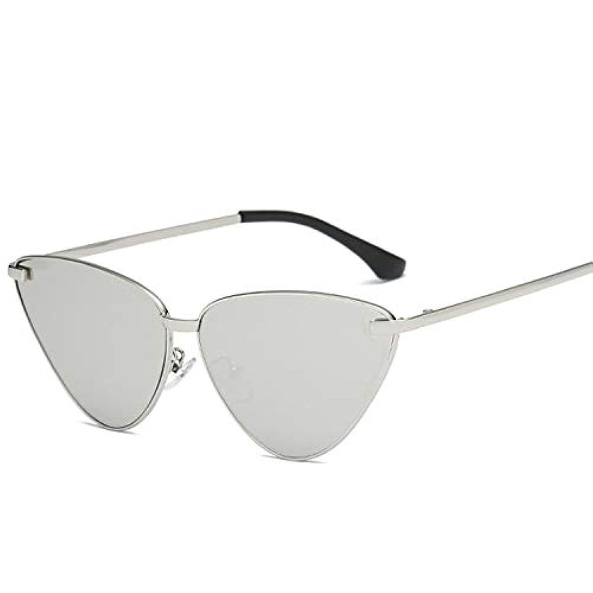 移動葉を拾う白雪姫Diffomatealliance Glasses メガネヴィンテージキャットアイミラーフラットレンズメタルフレームサングラスUV400用女性