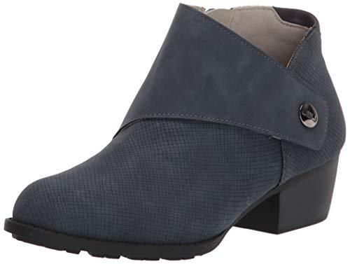 JBU by Jambu Women's Ankle Bootie Fashion Boot, Denim, 8.5