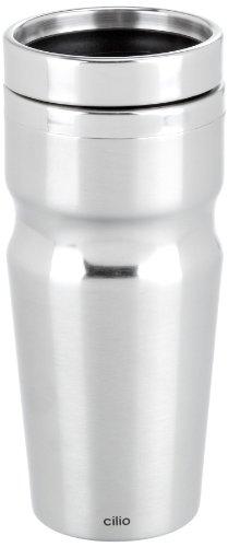 Cilio 541595 Auto-Thermobecher Futura, Edelstahl