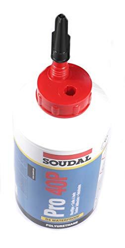 Soudal PRO 40P Holz Klebstoff Wetter Wasser Flasche von 750g–Beige