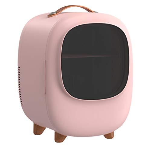 QMHG 8L Autokühlschrank - Mini-Kleinkühlschrank Dual Use Hot Cold Box Tragbarer Kühlschrank,Verdickte Isolierschicht/dichte Temperatursperre Elektrischer Kühler