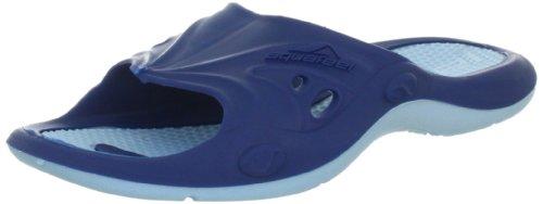 Fashy Unisex-Erwachsene Aquafeel Profi Pool Shoe Dusch- & Badeschuhe, Blau (Marine-Hellblau 51), 44/45 EU