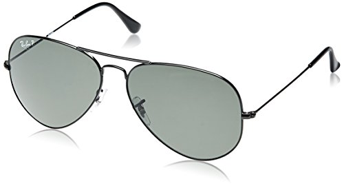 Ray-Ban Sonnenbrillen AVIATOR LARGE METAL RB 3025 002/58 55 Neu Original Herren