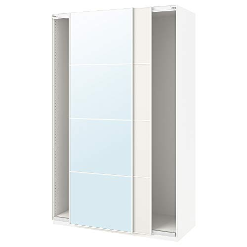 PAX armadio con ante scorrevoli 150x43.5x234 cm bianco/Auli Färvik