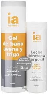 Interapothek pack gel avena+leche avena: Amazon.es: Belleza