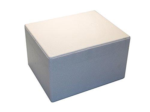 Tropic-Shop Styroporkisten | Styroporbox | Thermobox 310 x 250 x 185mm - - Warmhaltebox - Kühlbox für Getränke/Lebendsmittel