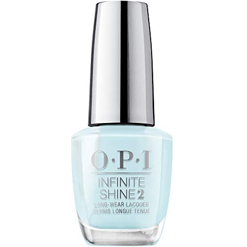 OPI Infinite Shine 2 Long-Wear Lacquer, Mexico City Move-mint, Blue Long-Lasting Nail Polish, Mexico City Collection, 0.5 fl oz