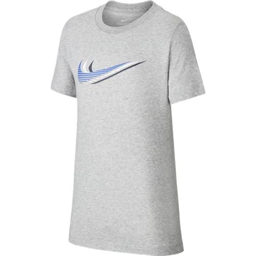 NIKE CU4572-063 Camiseta, Gris, S Unisex niños