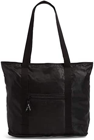Vera Bradley Women s Packable Tote Totes Black One Size product image