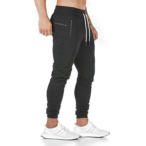 Godoboo Pantalones Jogger Pantalones de Deporte para Hombre Jogging Pantalones Ajustados Pantalones Deportivos para Hombres
