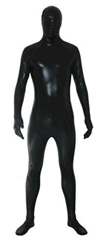 Howriis Unisex Metallic Ganzkörper-Zentai Spandex Fancy Dress Lycra Anzug Gr. Large, Blau-Y