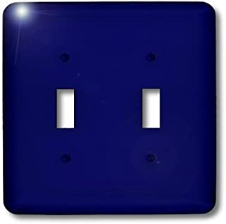 3dRose lsp_30649_2 Navy Blue Toggle Switch, Multi-Color