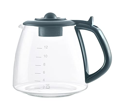 CAFÉ BREW COLLECTION Coffee Pot Replacement for KEURIG DUO (not the Duo Essentials Model) Coffee Maker, Borosilicate Glass Coffee Machine Replacement Carafe