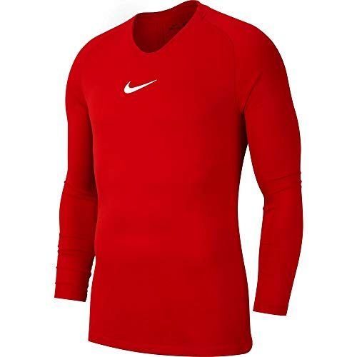 Nike Jungen Y NK Dry Park 1STLYR JSY LS Long Sleeved T-Shirt, University red/(White), L