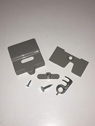 Dometic/Electrolux, kit di fissaggio di serratura del frigo per roulotte e camper (7805)