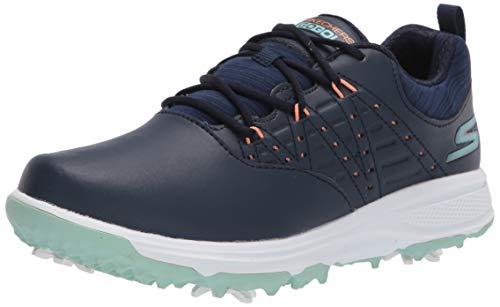 Skechers Go Pro 2 - Scarpe da golf impermeabili da donna, Blu (blu navy/turchese.), 36 EU