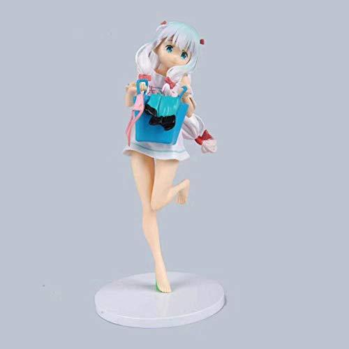 Yuirwe Uniforme Escolar Re: Vida en un Mundo Diferente de Cero REM 24 CM Plantilla de Juguete de la colección de PVC de figurilla Japonesa.-23 cm