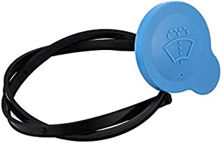 CloverLucky Car Windscreen Reservoir Washer Bottle Cap Blue For Nissan Qashqai Replacement for Broken or Missing