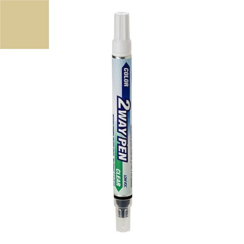 ColorRite Pen Automotive Touch-up Paint for Toyota Highlander - Sonora Gold Pearl Metallic Clearcoat 4R3 - Color+Clearcoat Package