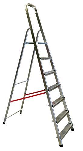 Homelux 825024 Escalera Domestica Peld.08 cm, 7 Peldaños, 5.6 kg