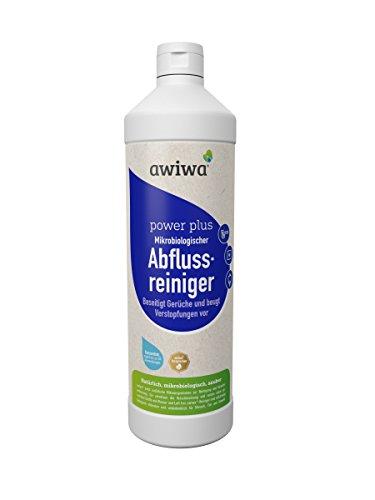 awiwa flüssiger Rohrfrei Abflussreiniger für Toilette, Küche & Bad - 1 Liter