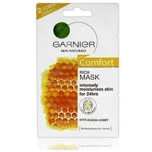 2 x 6ml Sachet Garnier Skin Naturals Rich Mask by Garnier