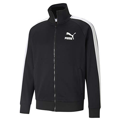 Puma - Mens Iconic T7 Track Jacket Pt, Size: Small, Color: Puma Black